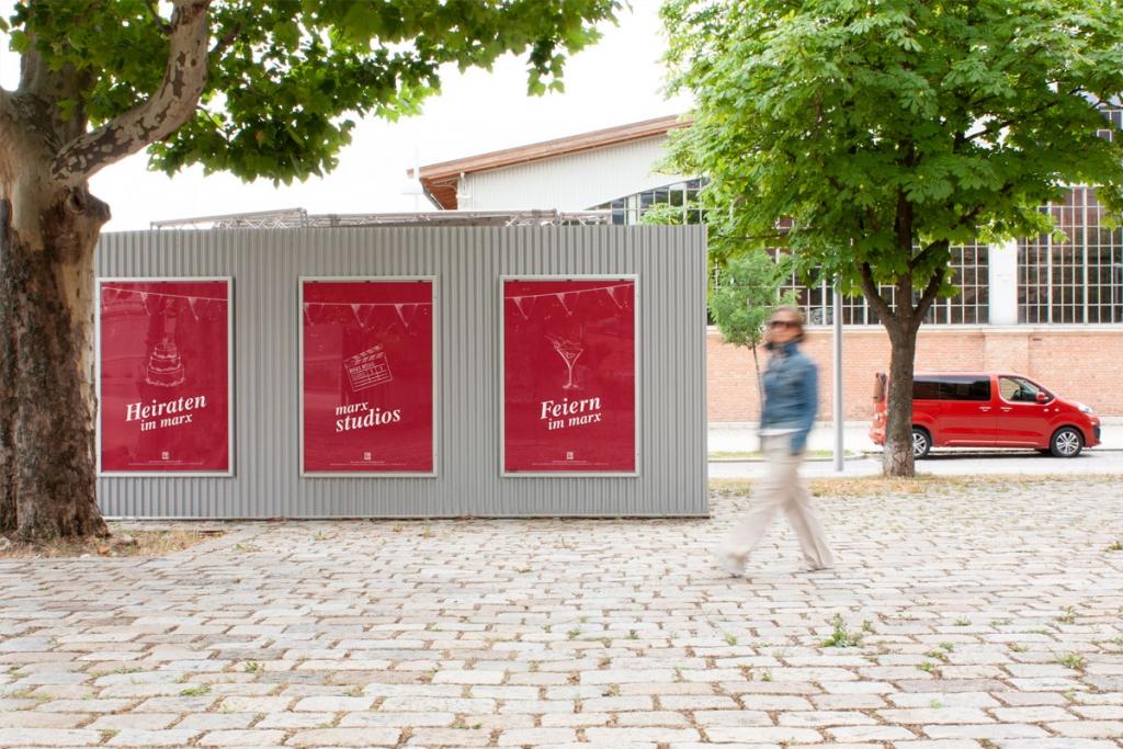 Poster-Design für Marx-Restauration