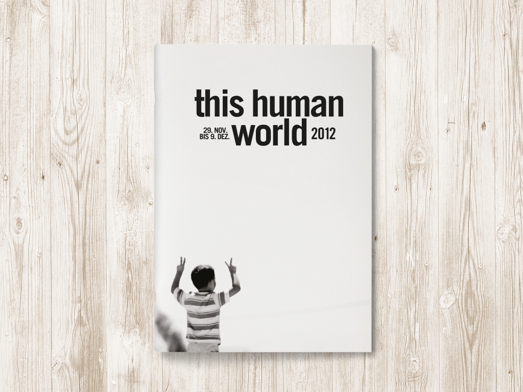 Programmheft für this human world